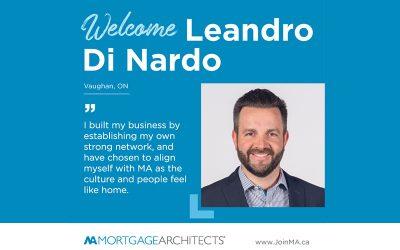 Leandro Di Nardo has made the move to MA!