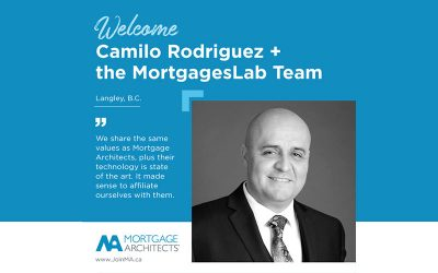 Camilo Rodriguez and the MortgagesLab team partner with the Mortgage Architects Broker Network